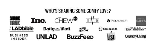 brands that support the company comfy love
