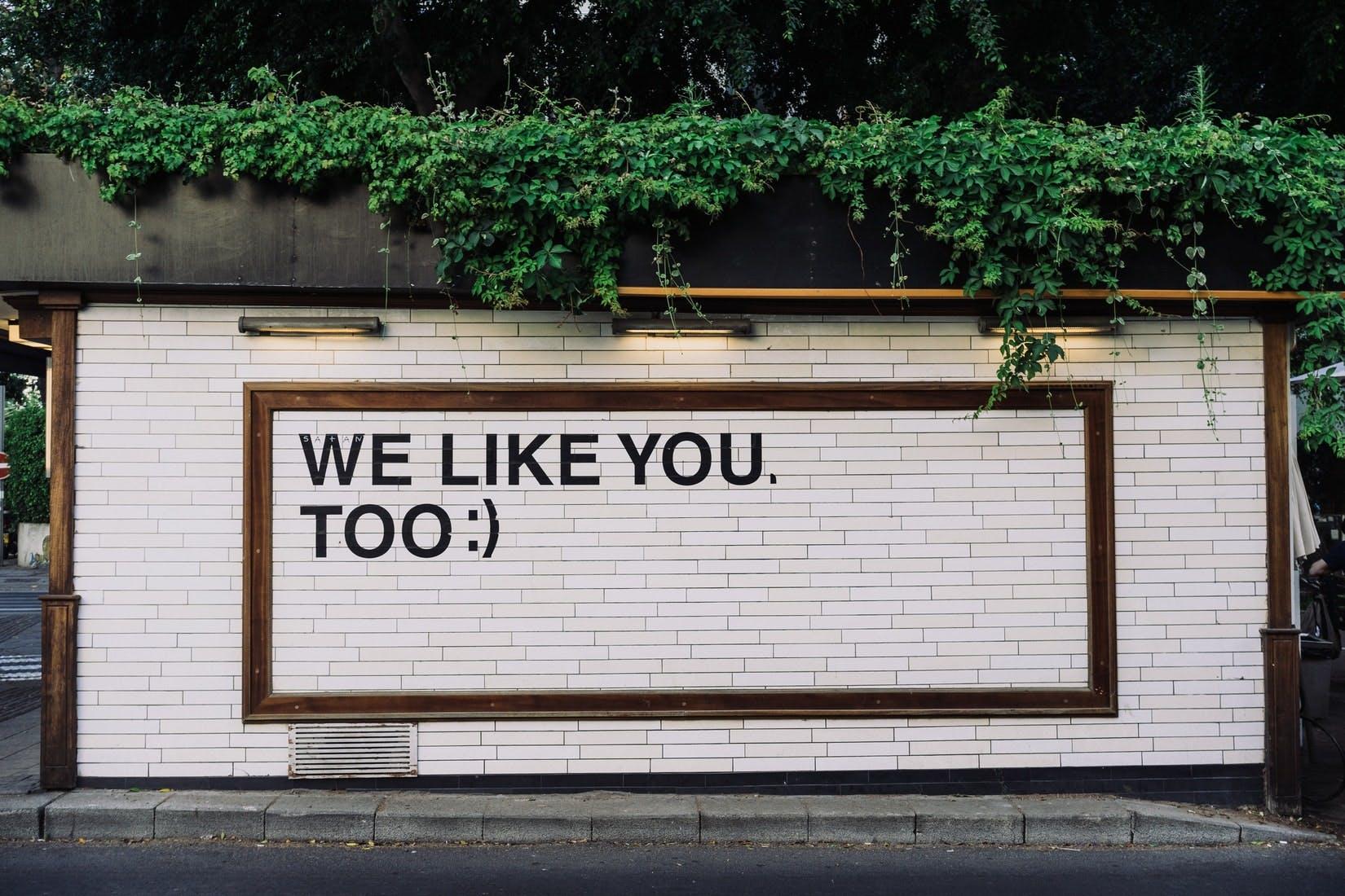 wall art reading we like you too