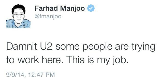 tweet from Farhad Manjoo