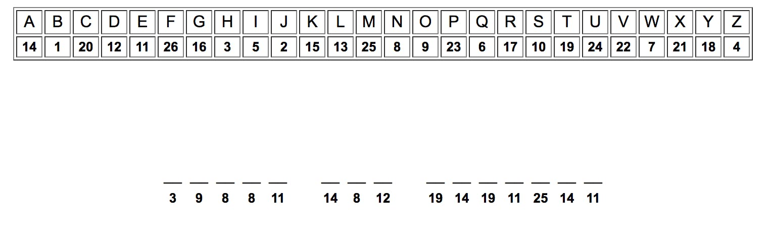 a cryptogram puzzle that originally appeared on the Nakamoto Family Foundation website