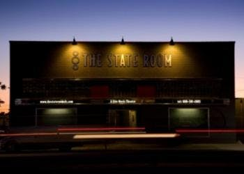 the state room building exterior