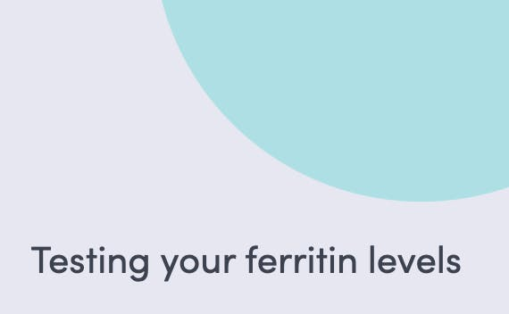 Article about testing your ferritin levels