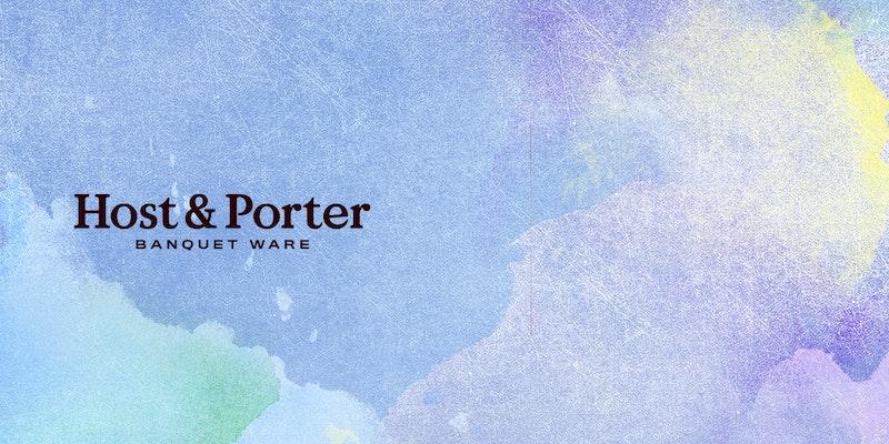 screen shot of Host & Porter homepage