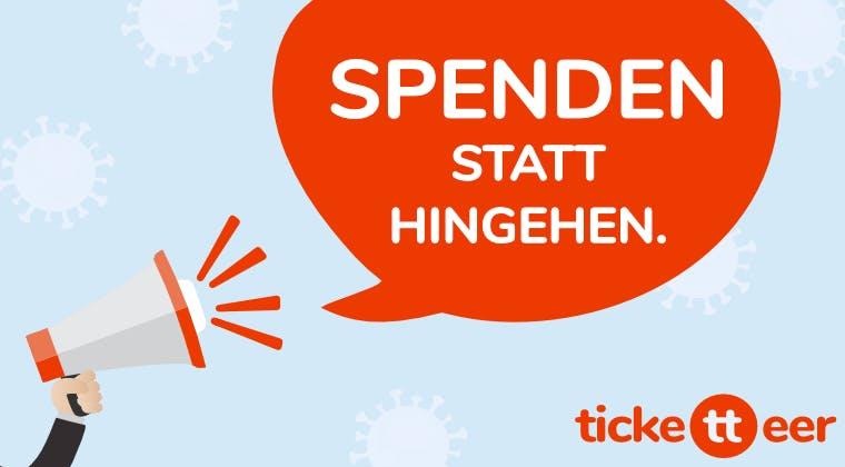 Für den guten Zweck: Sammle jetzt mit ticketteer online Spenden für deine Organisation