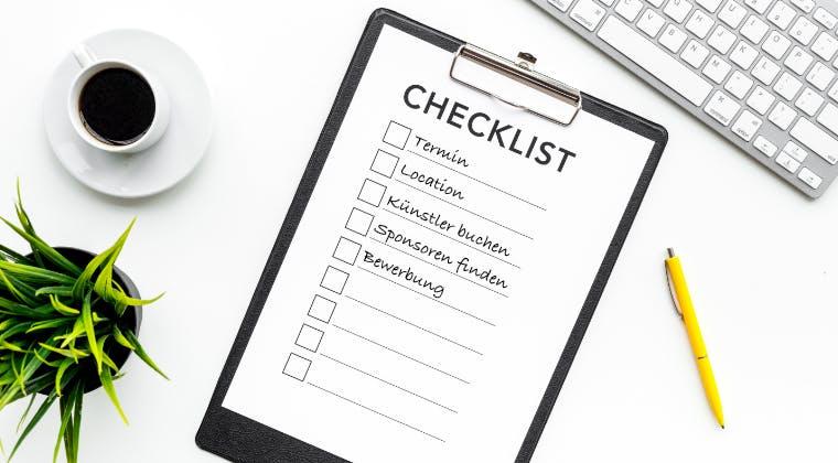 Checkliste: Das musst du bei der Planung eines Konzerts beachten