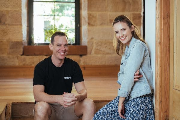 Mike Angell & Holly Cardew at their new Surry Hills headquarters