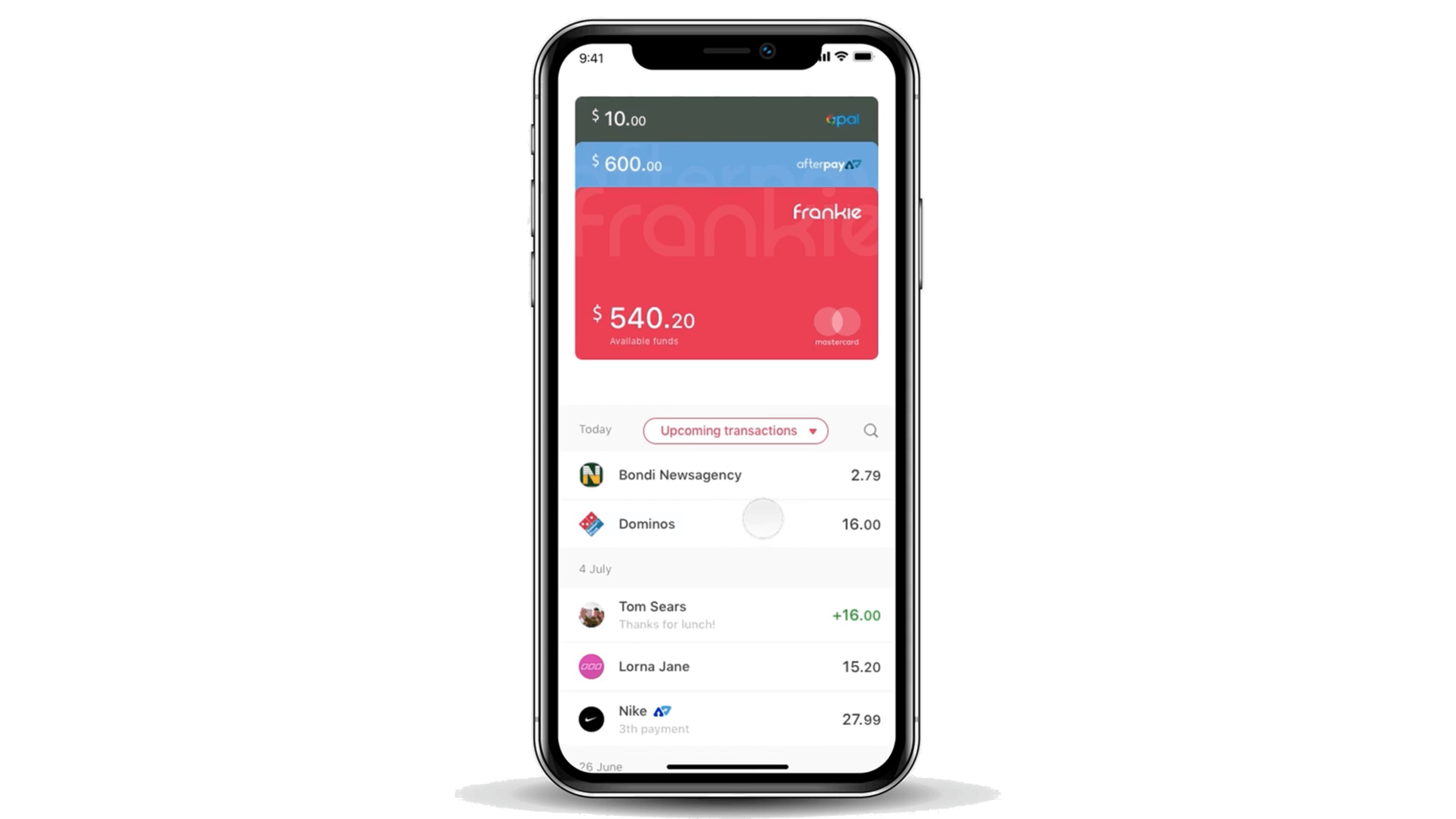 A sneak peek at the consumer app back in 2018