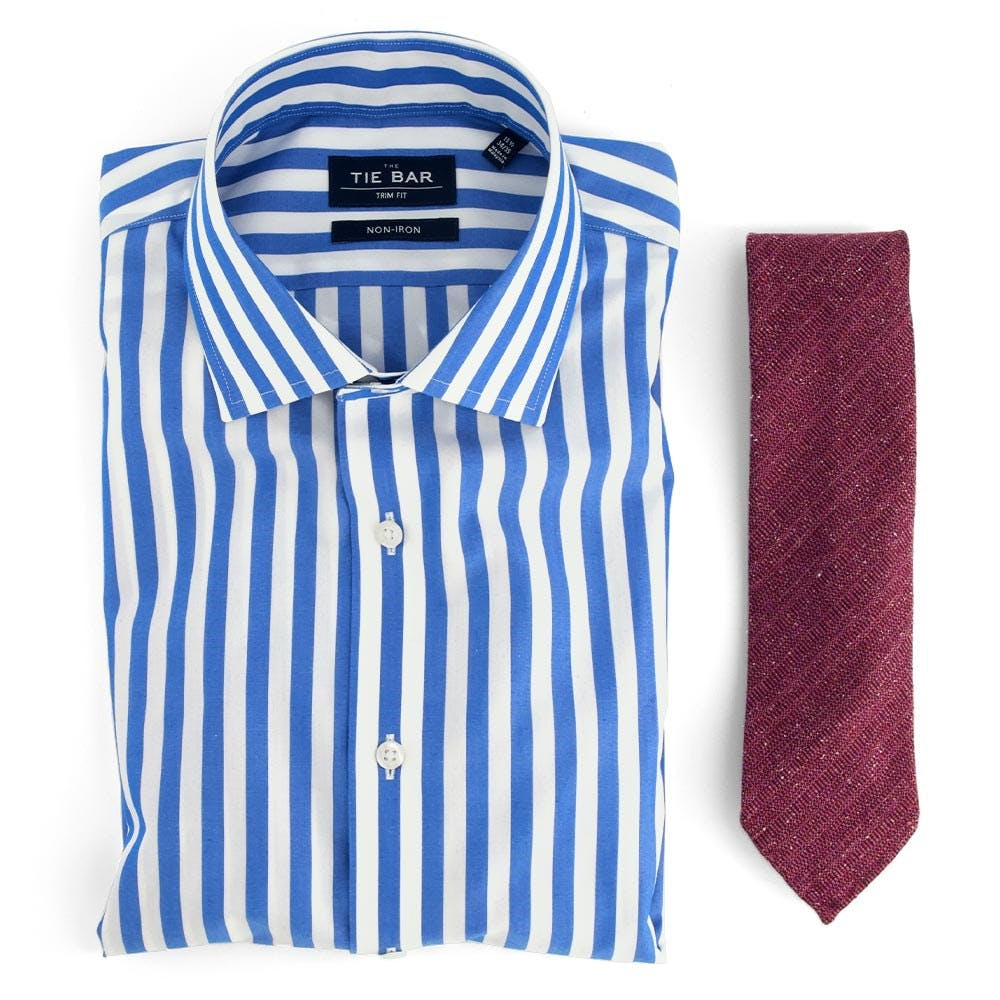 Cabana Stripe & Unlined Solid Combo