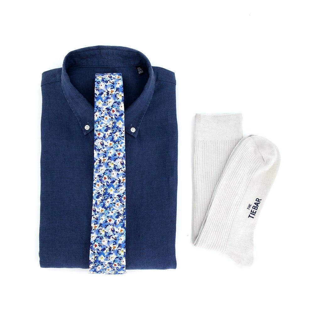 Liberty Floral Linen Shirt Combo