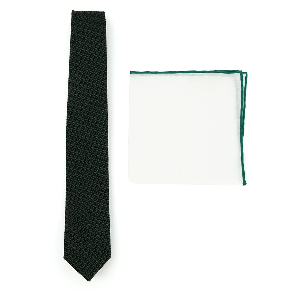 Grenalux Tie Combo to Match Grey Suits