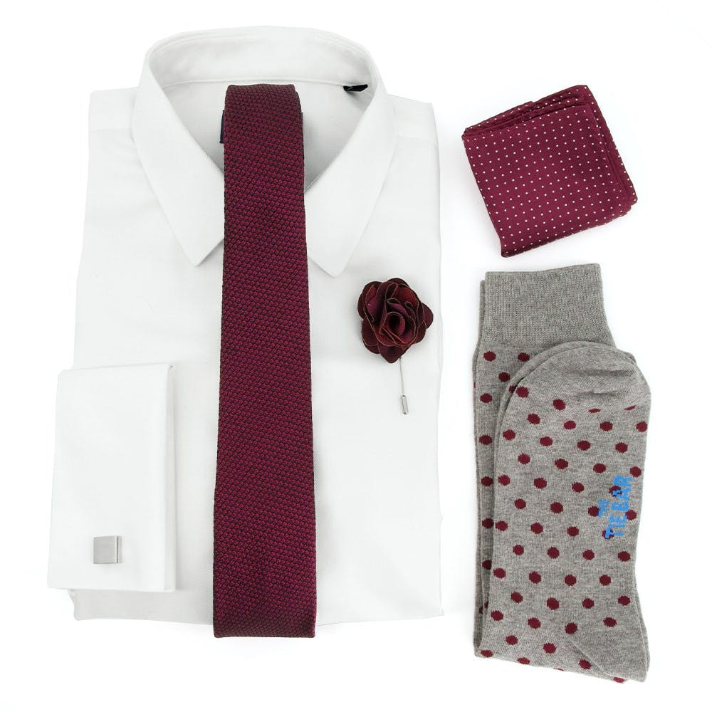 Grenalux Solid Wedding Outfit