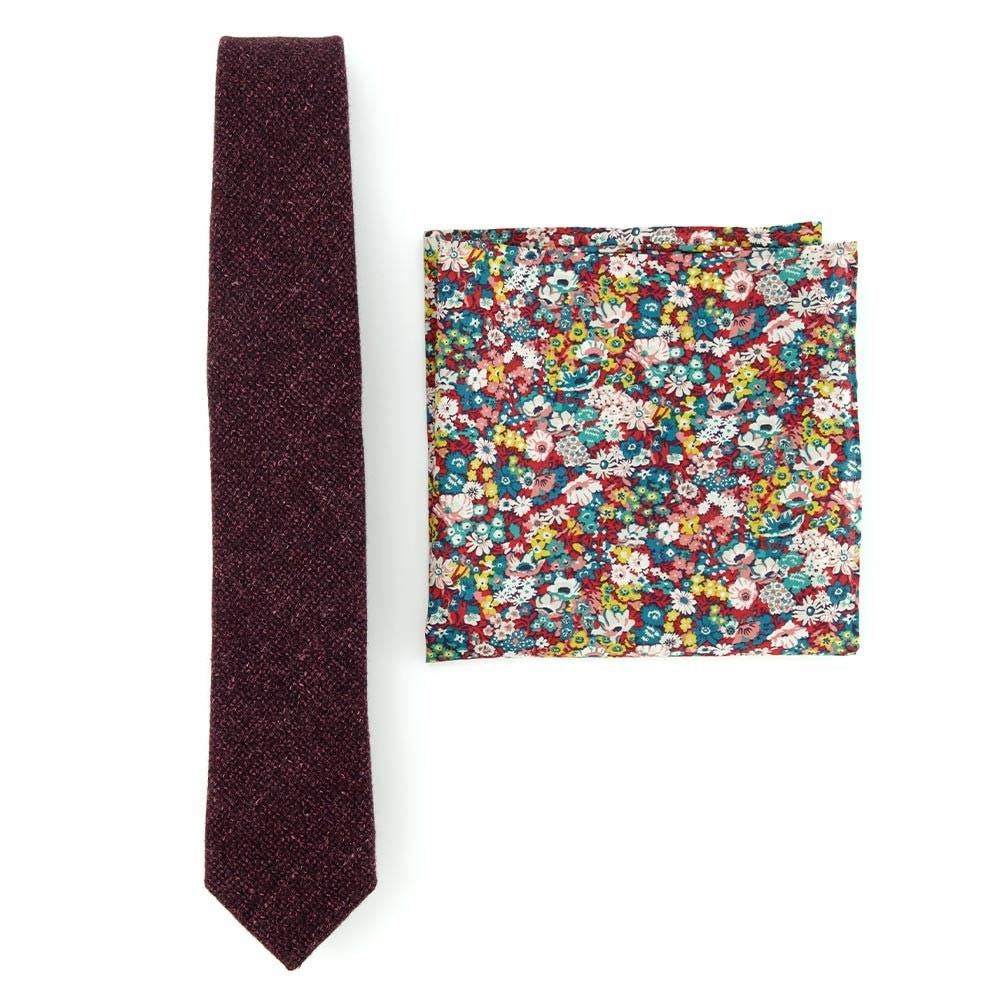 Liberty Combo To Match Grey Suits