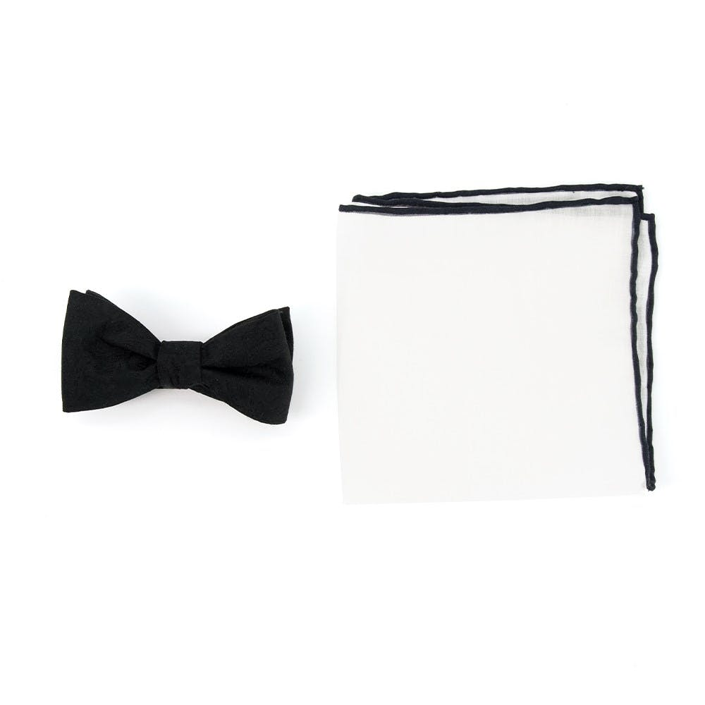 Paisley Bow Tie Combo for Formal Events