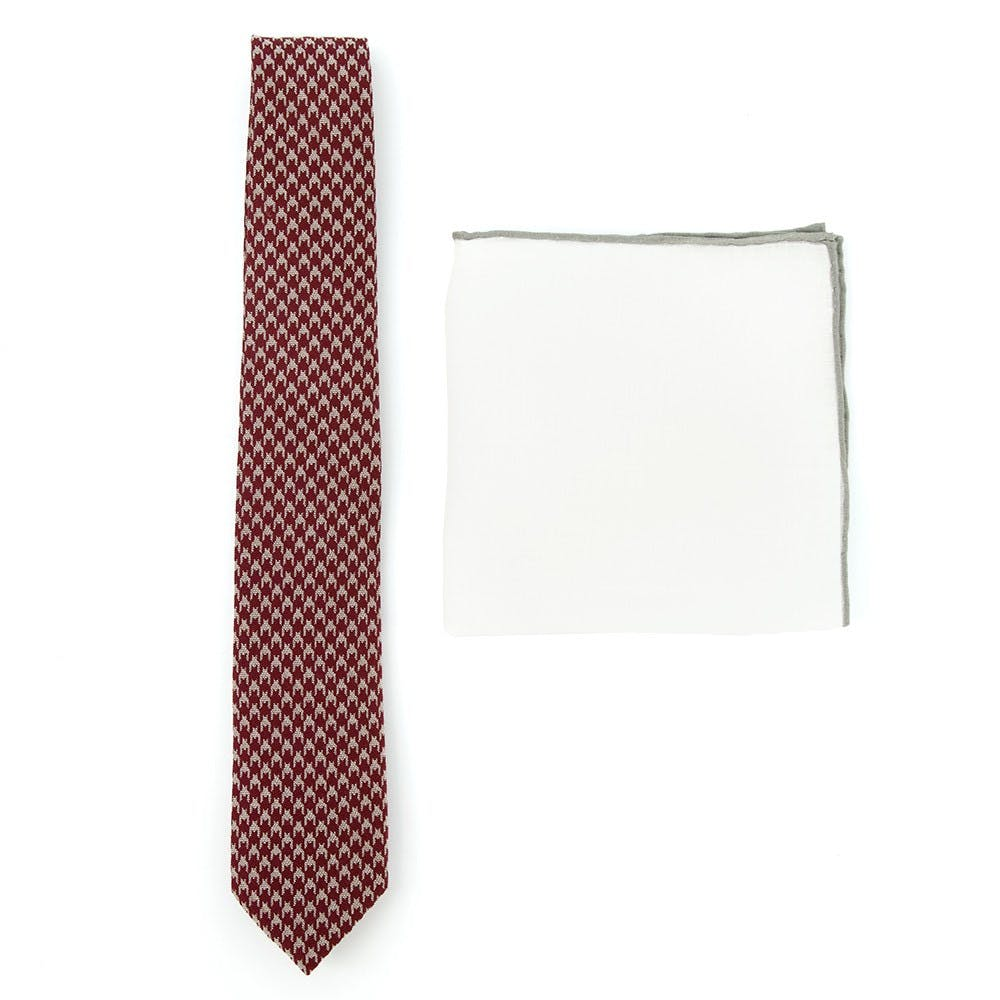 Burgundy Tie Combo for Weddings