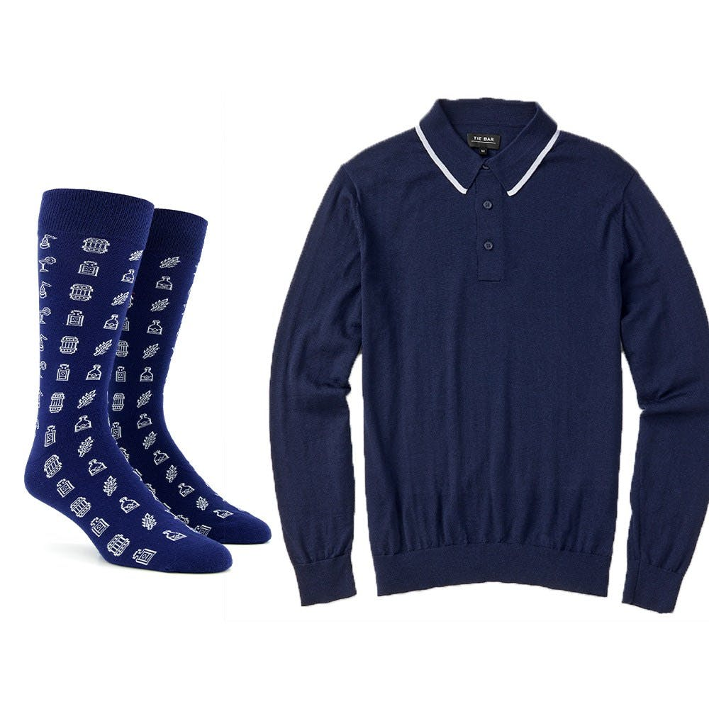 Tie Bar x Spirit Hub Dress Sock Combo