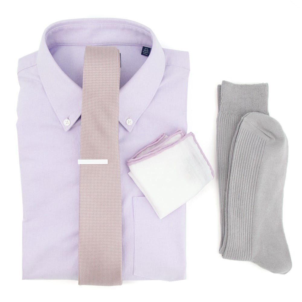 Union Solid Mauve Stone Wedding Outfit