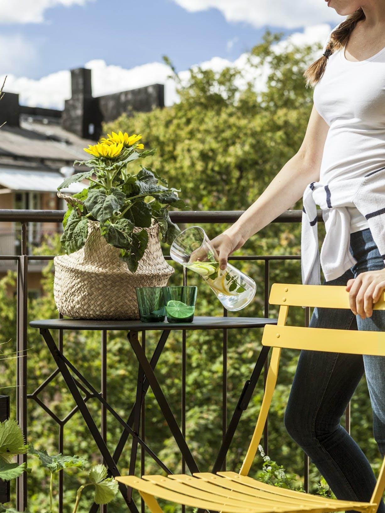 Turn Your Balcony Into An Outdoor Oasis | Chair Shot 2 | Tikkurila