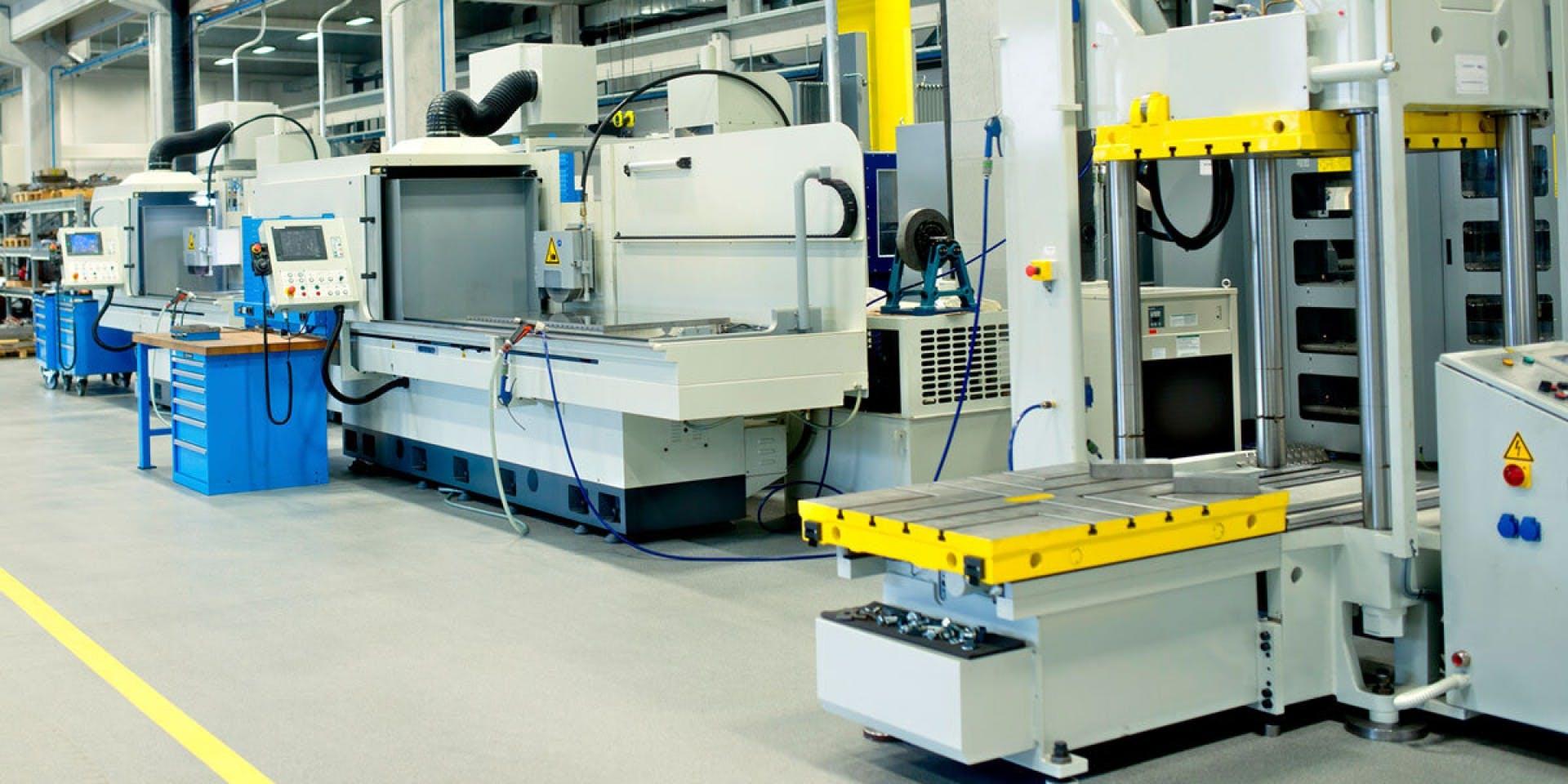 Steel Surfaces - Processing industry Hero Image