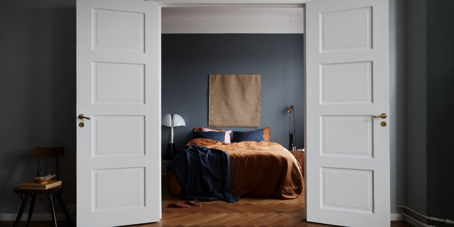 Feel the Colour Collection | Bedroom Surf Paint | Tikkurila