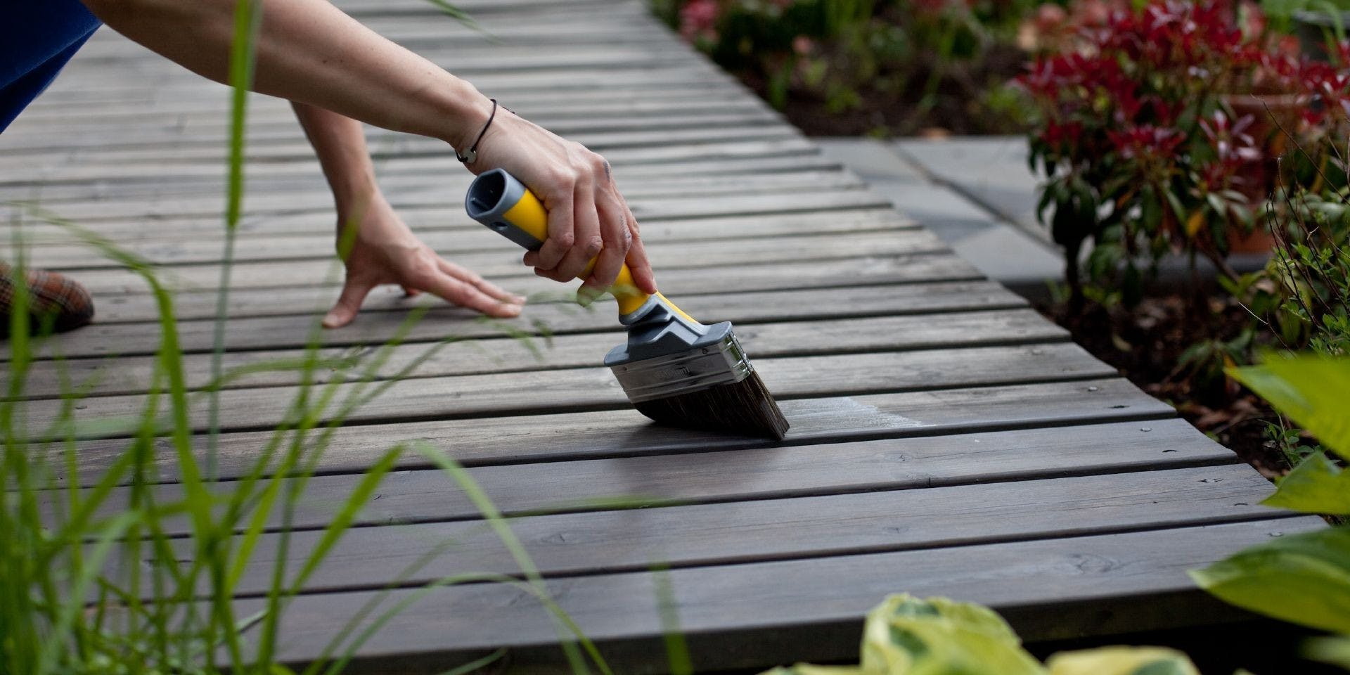 Garden DIY Painting- Your Decking For Summer | Hero Image