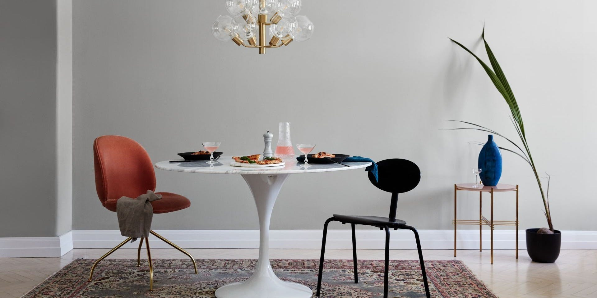 Feel the Colour Collection | Luxurious Dining Interior | Tikkurila