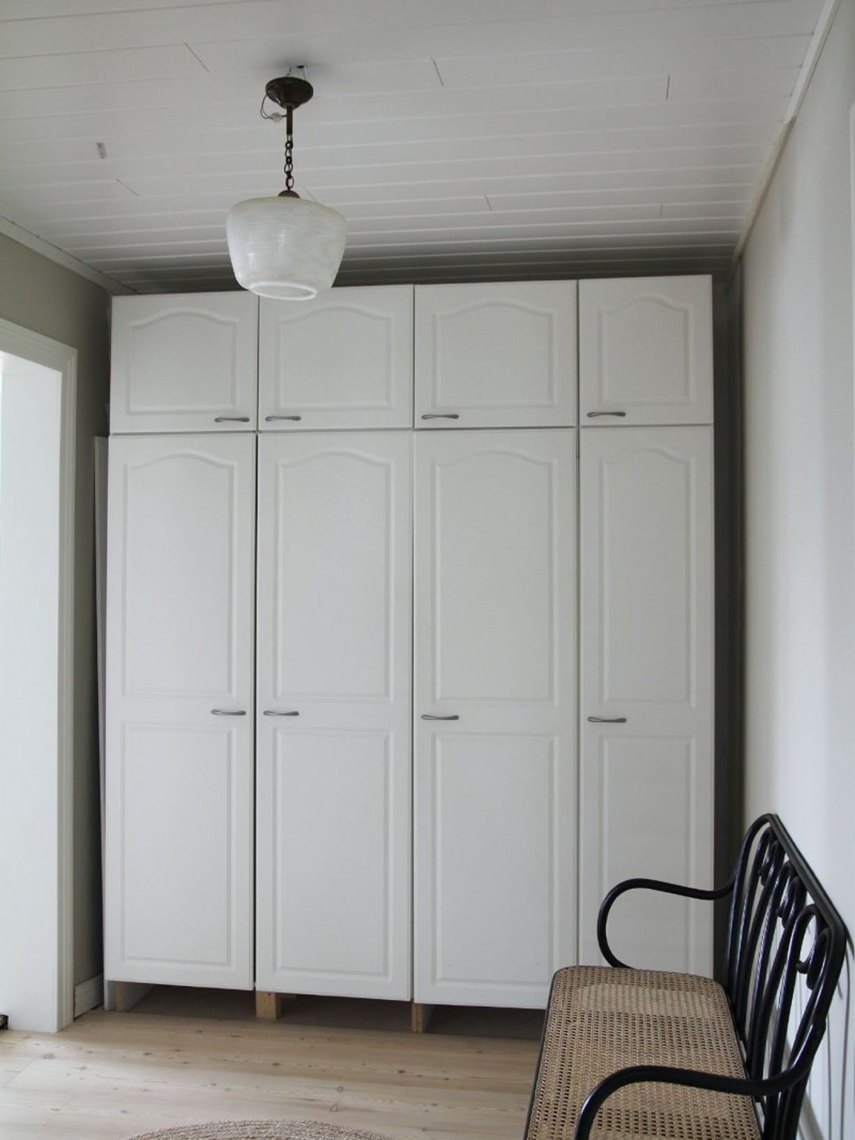 How to update storage cabinets without replacing them   Before lmage   Tikkurila