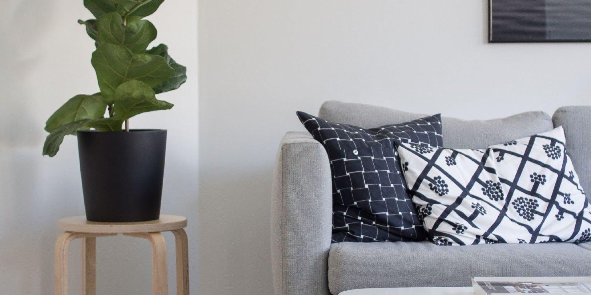 Tikkurila White Paint Living Room Refresh Header Image
