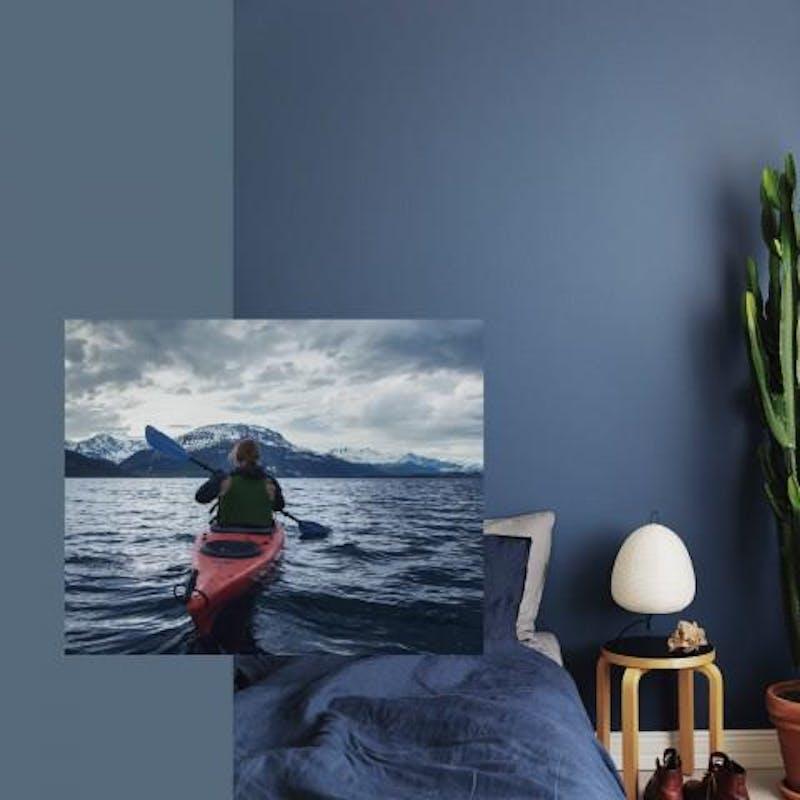 INDIGO L429 - Calming Blue Colour Mood