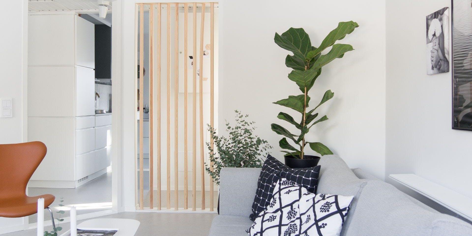 Tikkurila White Paint Living Room Refresh wide Image 1