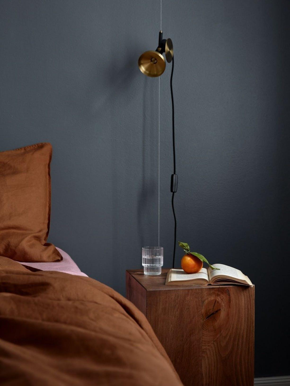 Feel the Colour Collection | Dark Paint Bedroom | Tikkurila