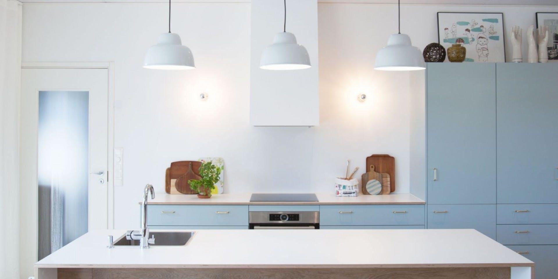 Kitchen Refresh Tikkurila Paper White paint Hero  Image