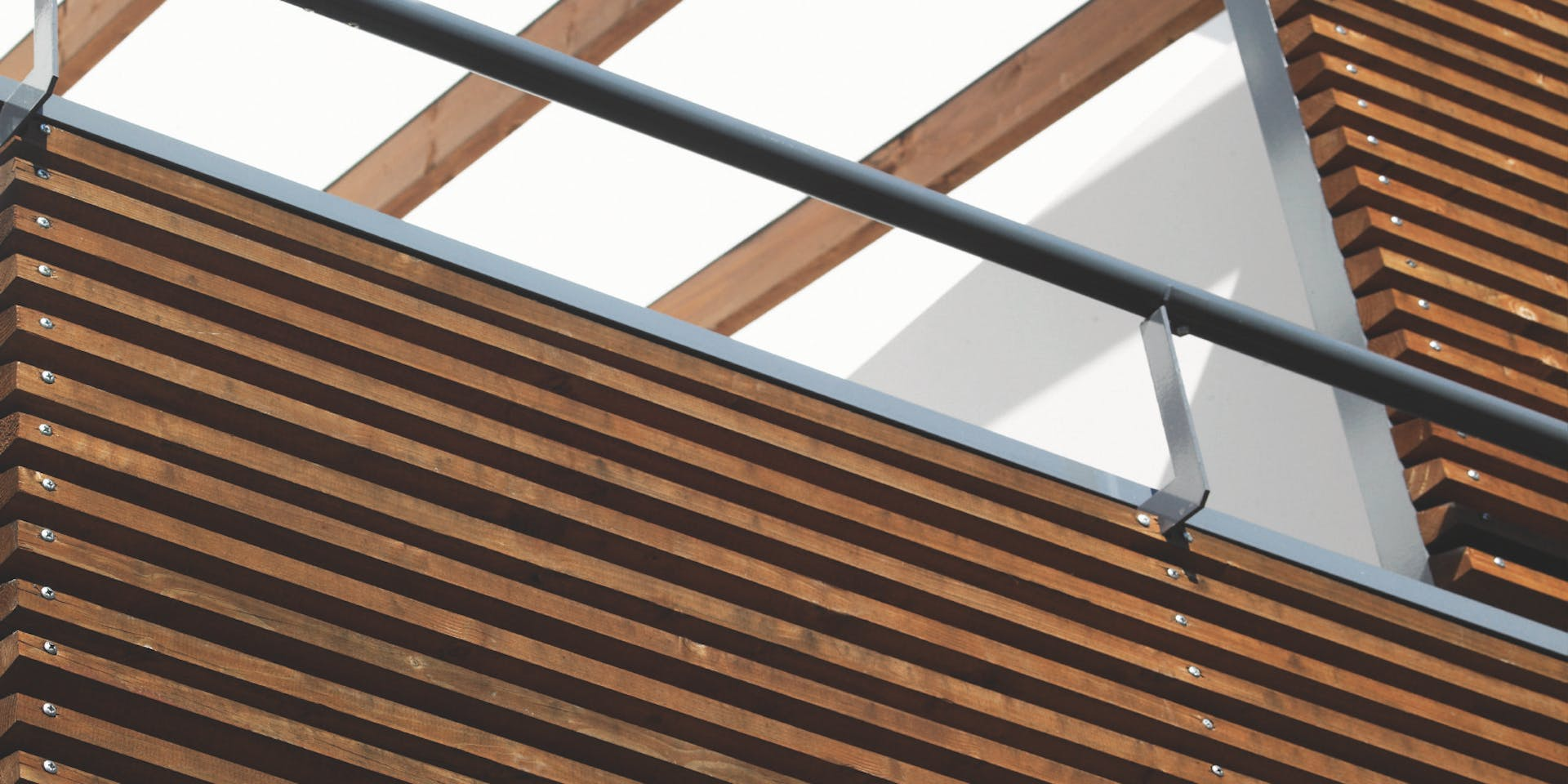 Wooden Surfaces - Wooden Cladding Close Shot Image