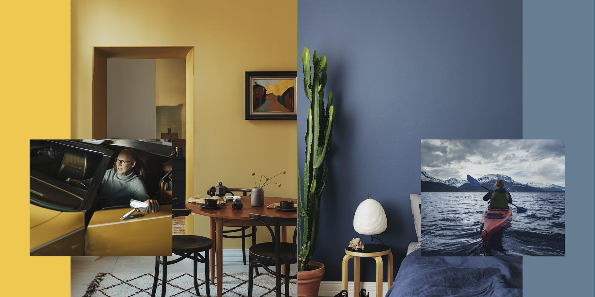 Your Interior Colour Mood - Tikkurila Emotive Paint Colours - Hero Image