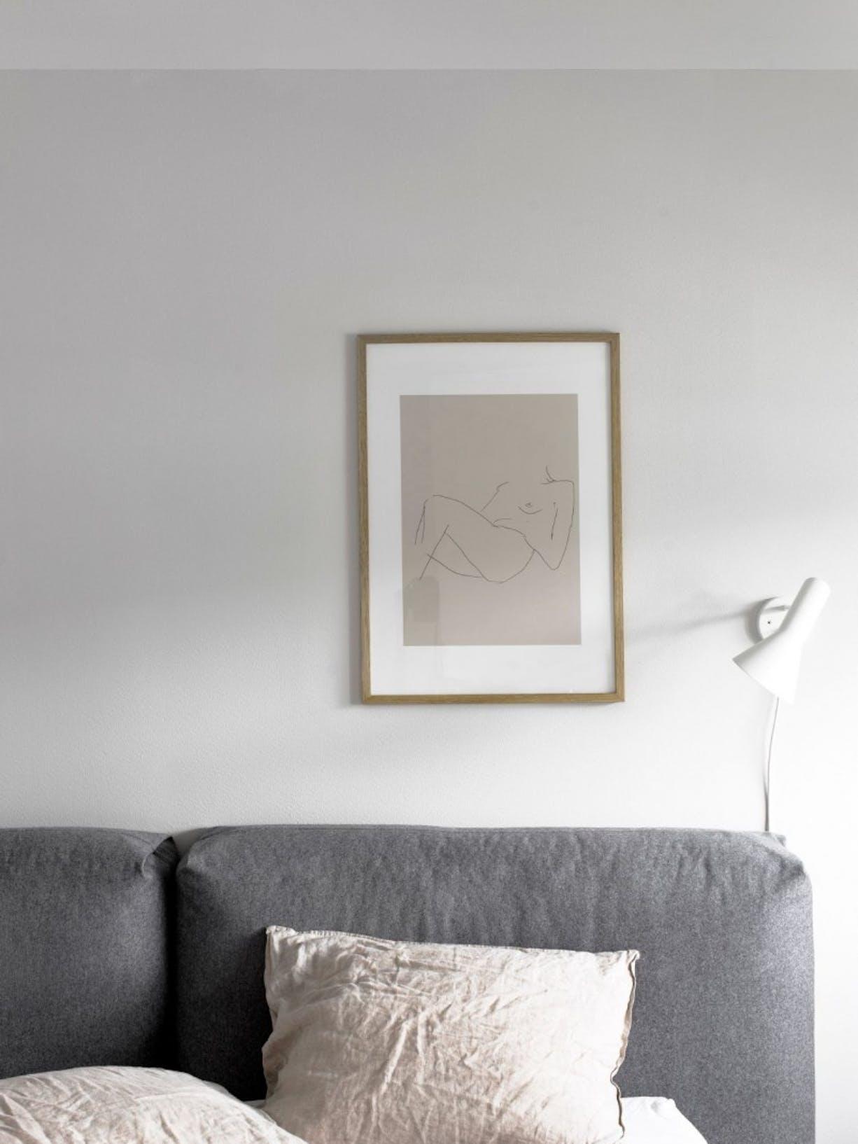 White Bedroom Walls - Tikkurila UK left image