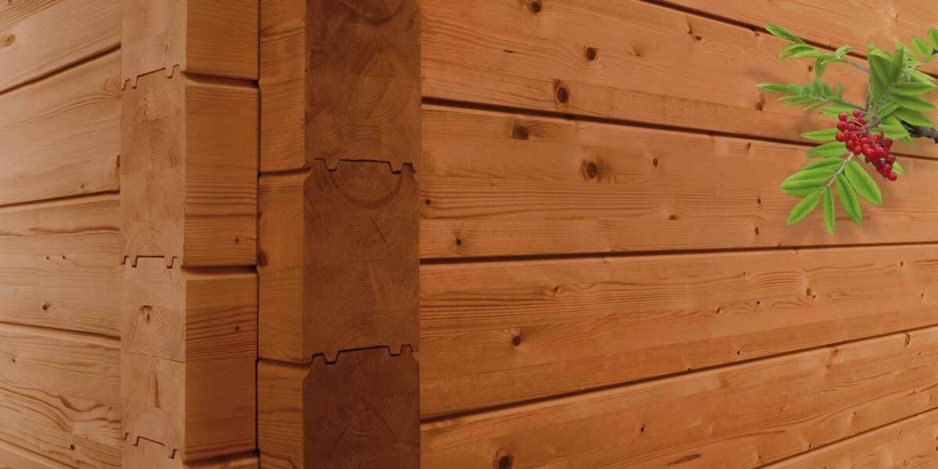 Wooden Surfaces - Log Cabins & Timber Structures Wide Image