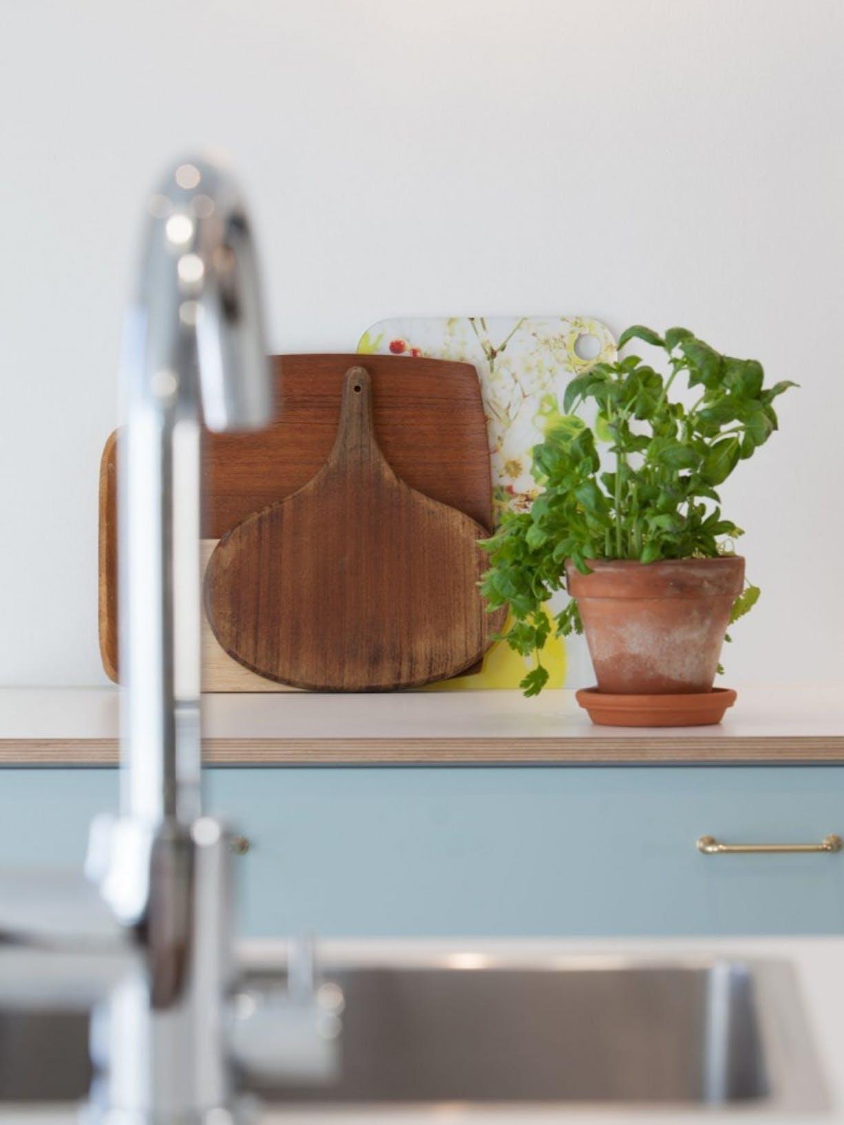 Kitchen Refresh Tikkurila Paper White paint right image