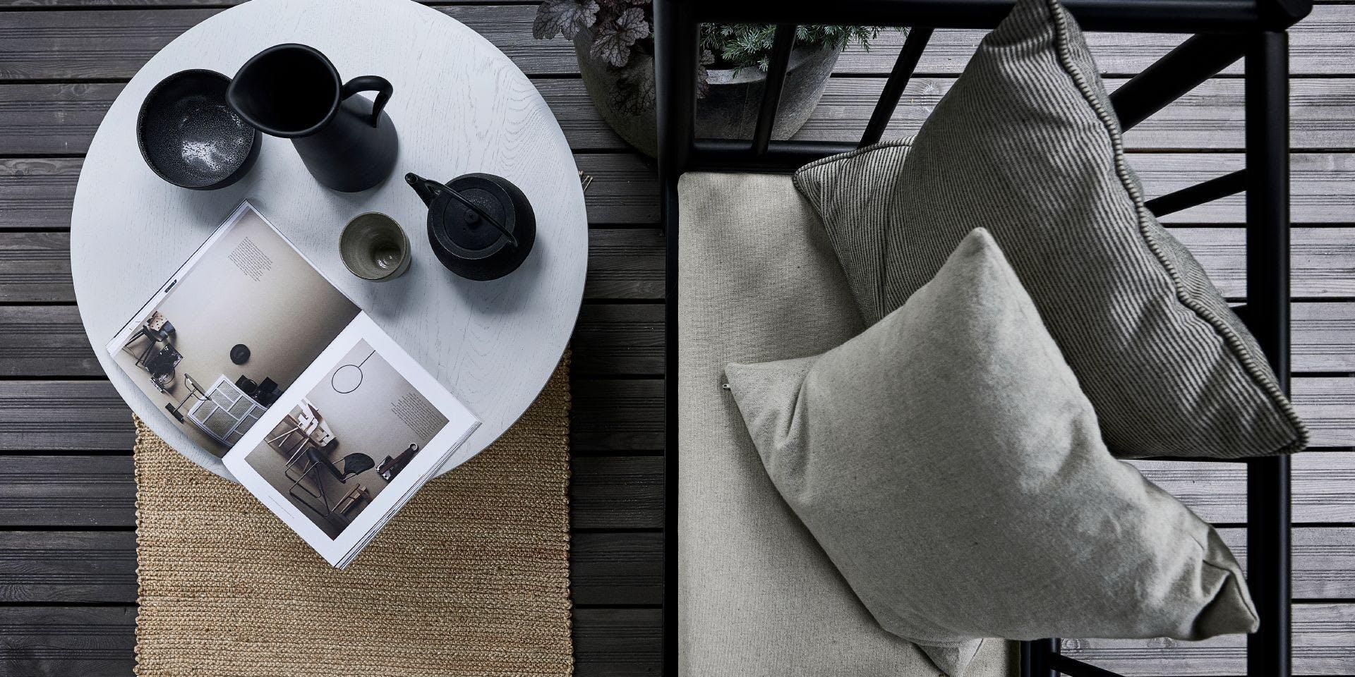 Garden DIY ideas: Painting your patio deck grey | Banner Image One | Tikkurila