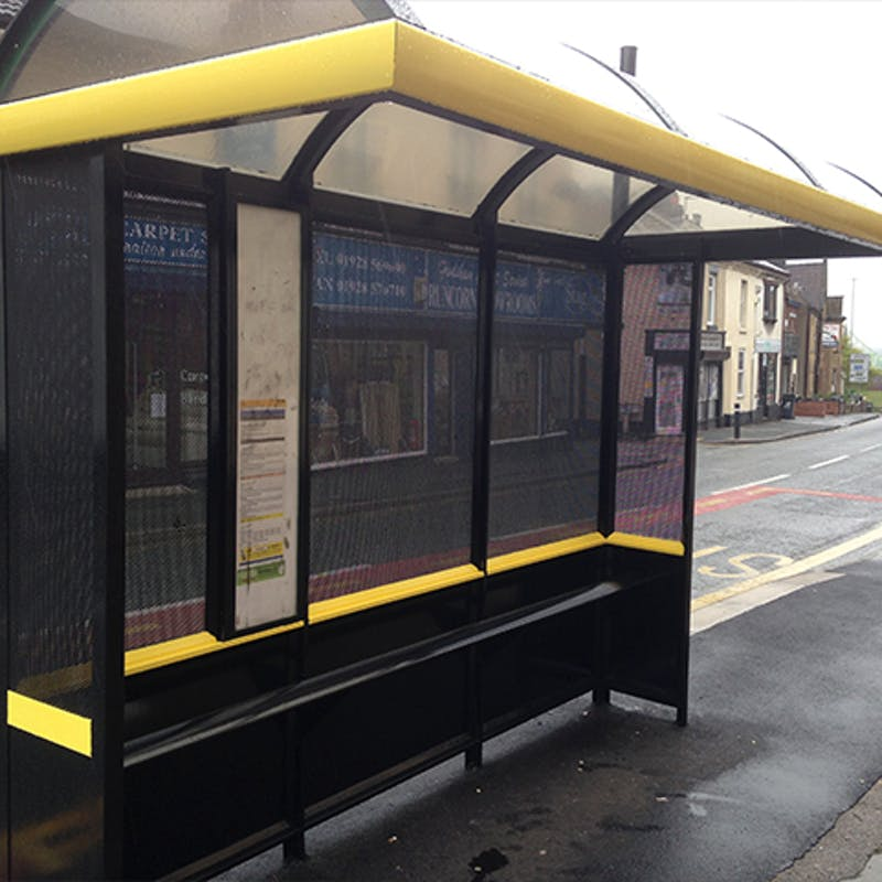 Halton Bus Shelter | Industrial Case Study Image 1