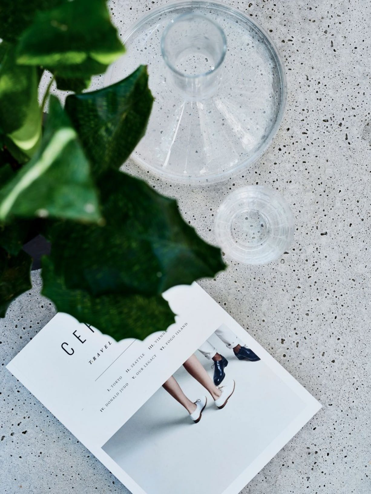 Concrete table makeover for the patio | right Image