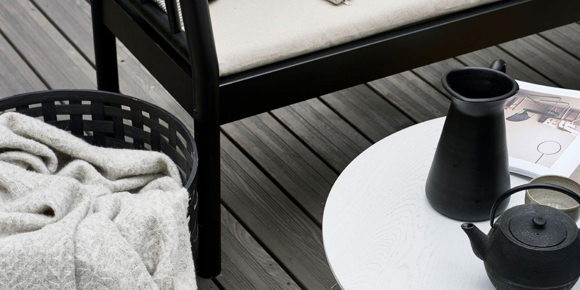 Garden DIY ideas: Painting your patio deck grey | Banner Image Two | Tikkurila