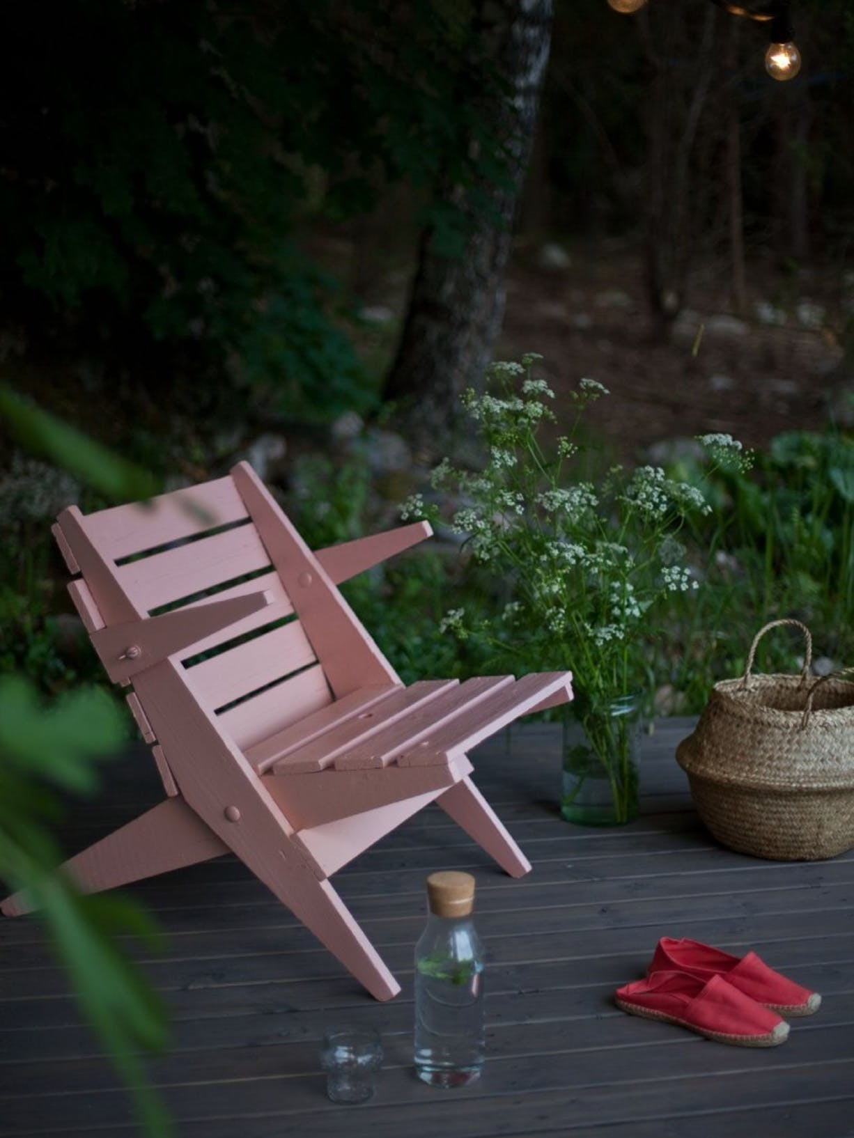 Garden DIY Painting- Your Decking For Summer | Chair Image