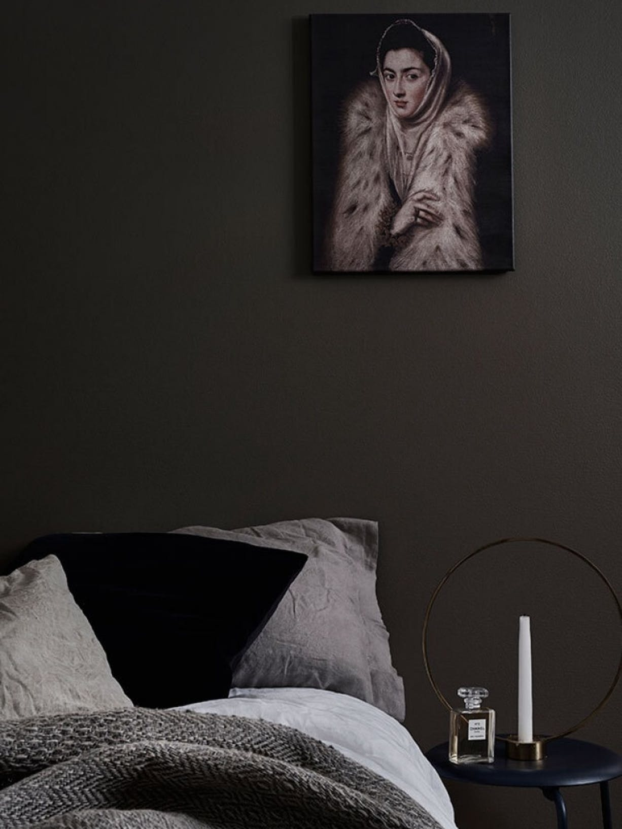 Painting Ideas | Intimate Dark Colours For The Bedroom | Right Image