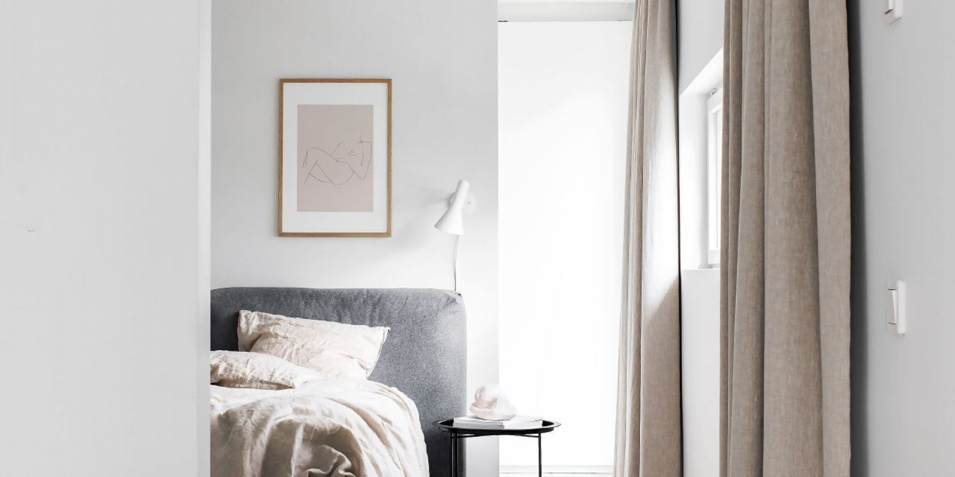 White Bedroom Walls - Tikkurila UK header image