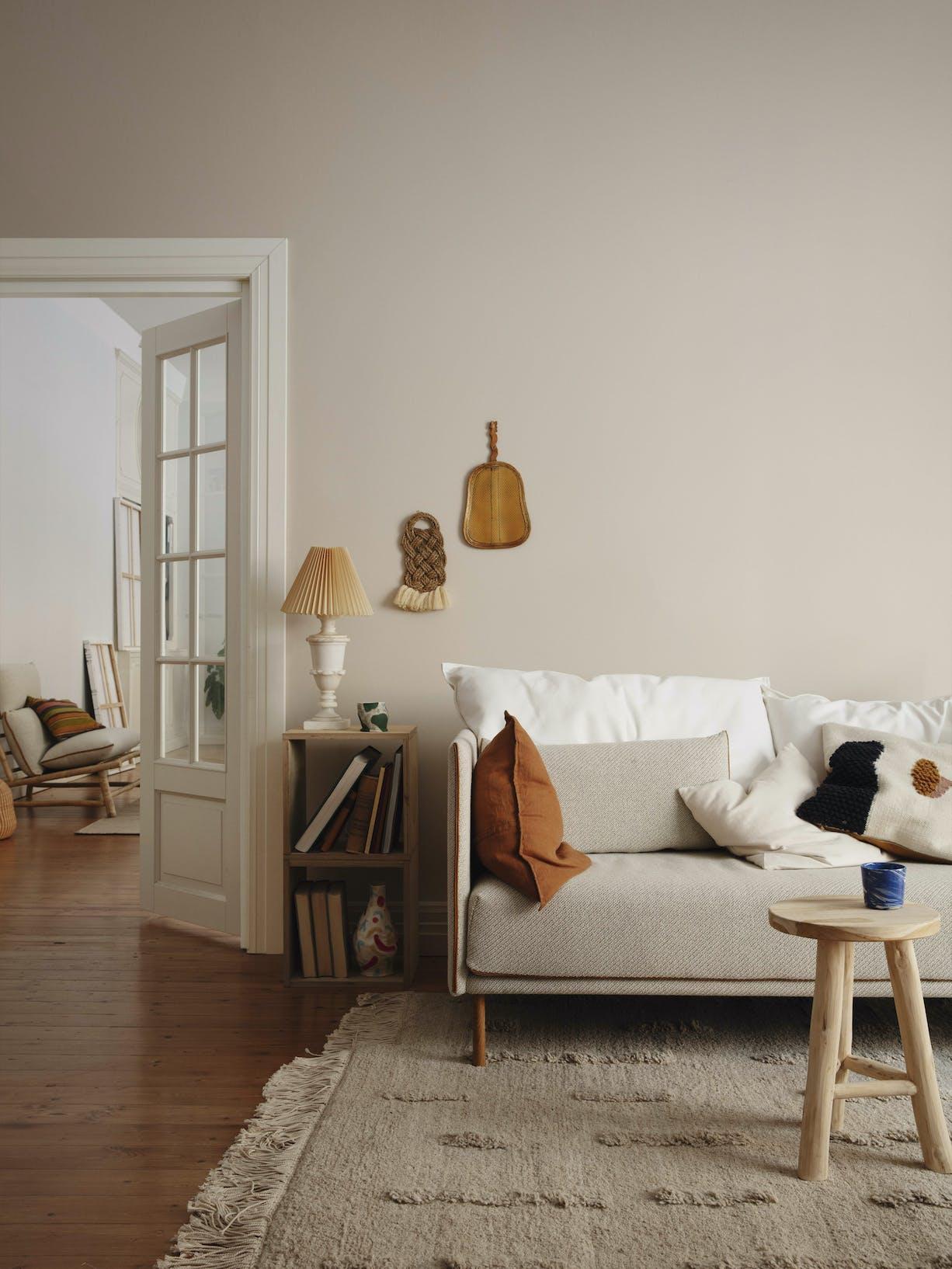 Interior Colour Mood: Balanced Beige - Tikkurila Beige - Left Body Image
