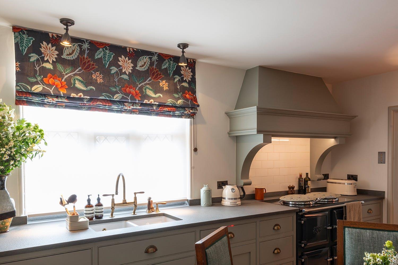 M Studio kitchen blind detail