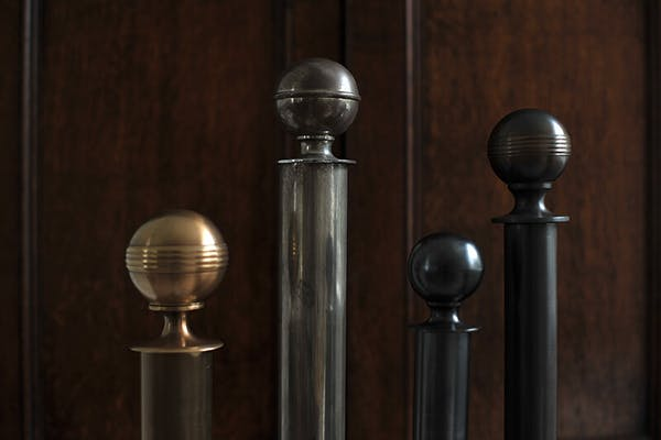 Classic finial collection