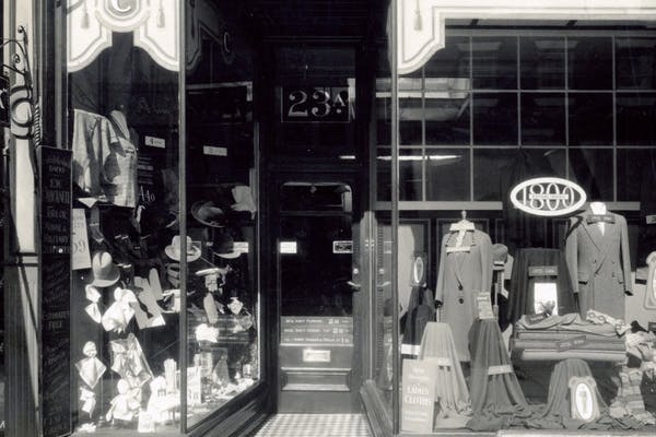 Tillys heritage shopfront