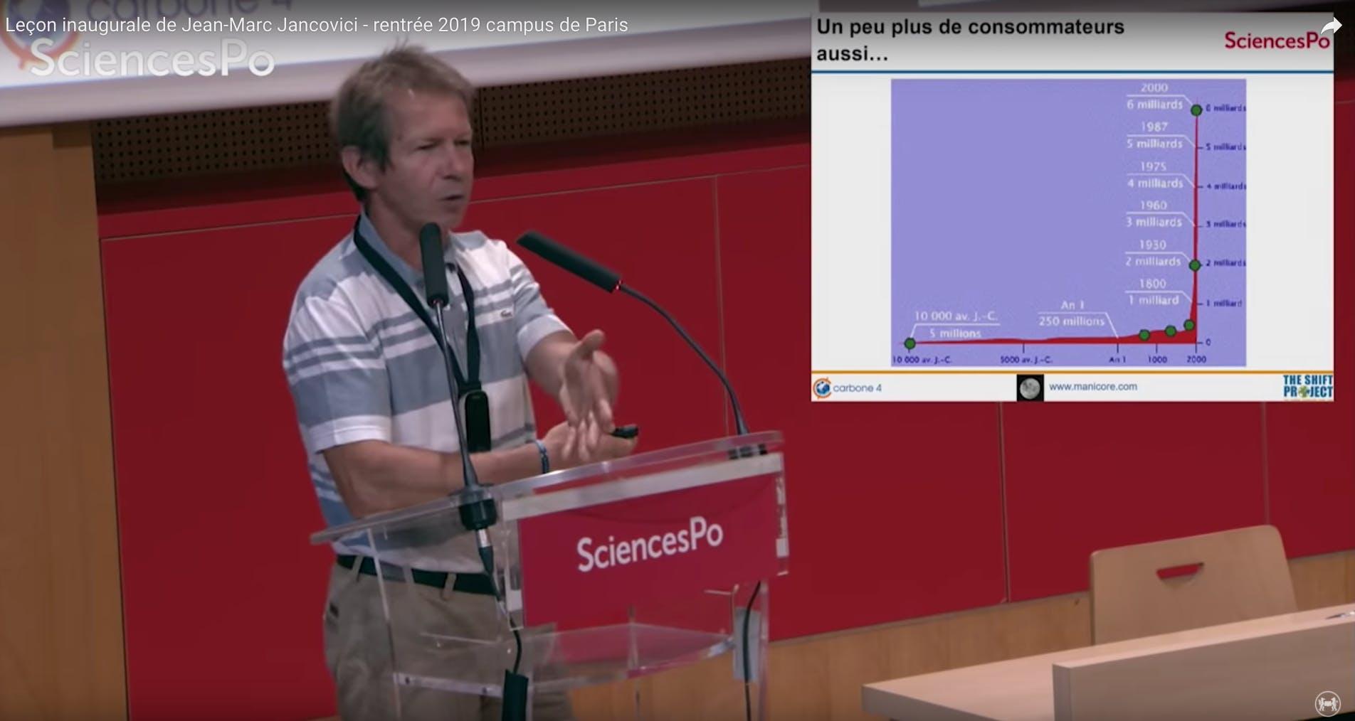 Conférence de Jean-Marc Jancovici