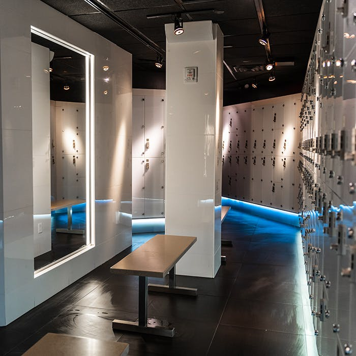 Executive Locker Rooms at TMPL
