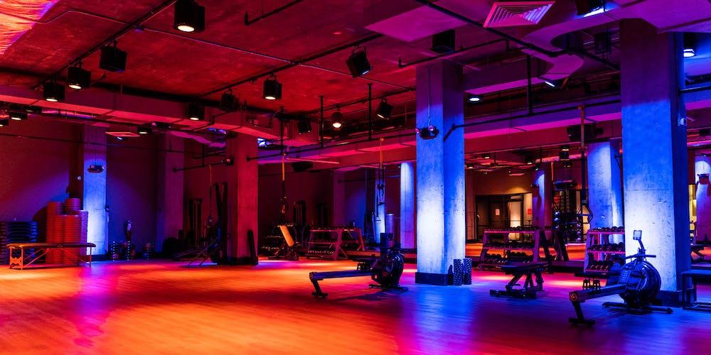 Fitness studio inside TMPL Hell's Kitchen